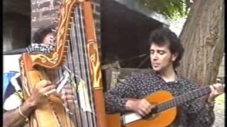 "Cascada - Juan Pablo ""papi"" Rotela Arpa - Juan Carlos Arce guitarra"