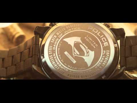 BATMAN VS. SUPERMAN POLICE LIFESTYLE WATCHES