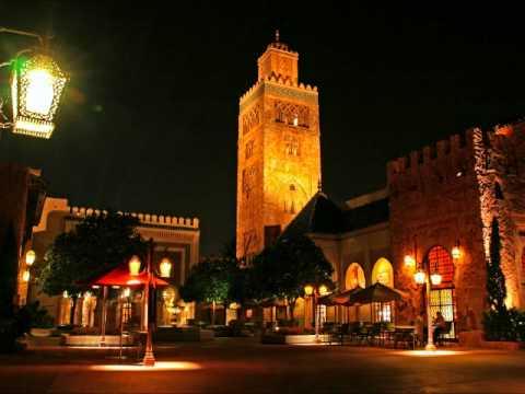 Morocco Pavilion – Desert Rose – Mo Rockin