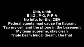 The Notorious B.I.G - Mo Money Mo Problems Lyrics (FT Puff Daddy & Mase)