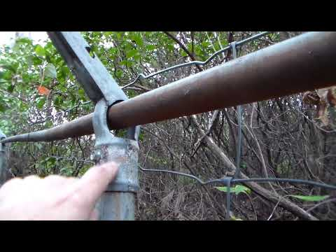 Why I built my security fence this way.