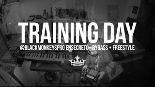 Ensecreto & Rybass Training Day MPC LIVE + Freestyle • Black Monkeys