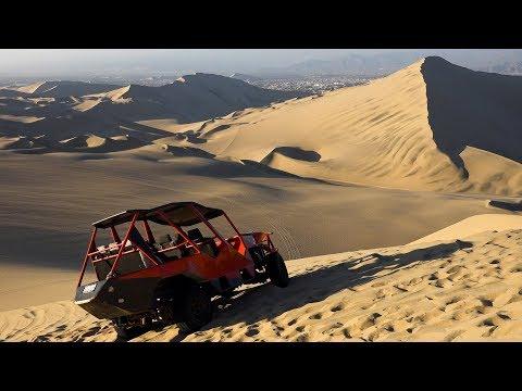 Huacachina Desert Oasis, Peru in 4K Ultra HD