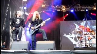 Amaranthe - Afterlife (live SommarRock Svedala 2013)
