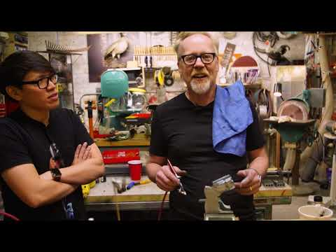 Adam Savage Build Tip: Protecting Chrome Paint Finish