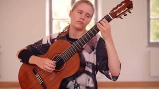 Leonora Spangenberger (13) plays 12 Etudes by Heitor Villa Lobos: Etude No 5