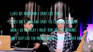 Fake Love, Broccoli & Caroline (William Singe & Alex Aiono Mashup) LYRICS