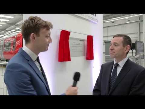 Launch of new Testing & Commissioning Facility – interview with Richard Hunter