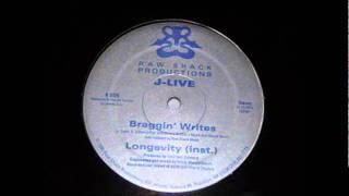 "REMIX // J-LIVE - ""Braggin' Writes"" (Instrumental) (Prod : Art Aknid, Tchernolille)"