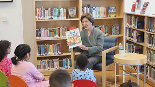 Former First Lady Laura Bush Visits Children's Medical Center Dallas