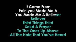 Imagine Dragons   Believer karaoke