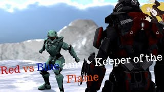 Red vs Blue amv ~ Keeper of the Flame