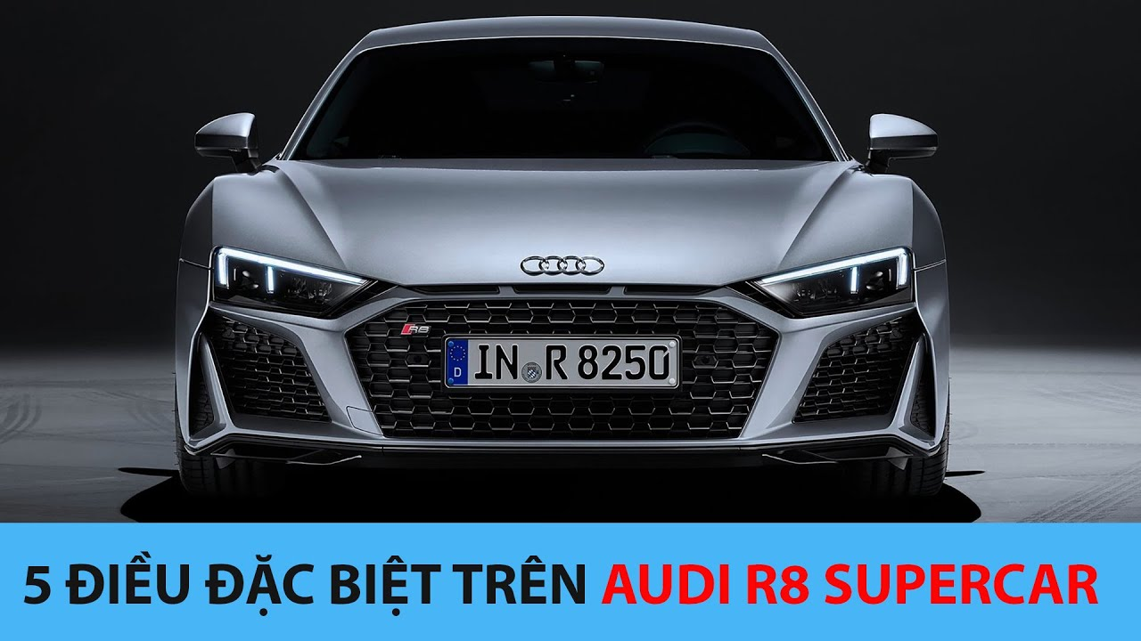 Amazing things on Audi R8 Supercar
