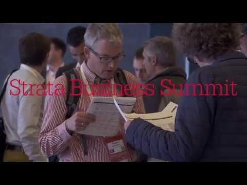 Strata Business Summit - Make data work for business.
