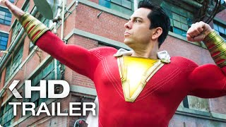SHAZAM! - 8 Minutes Trailers & Clips (2019)