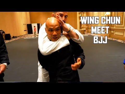 Wing Chun Master Meet BJJ Master | Master Wong