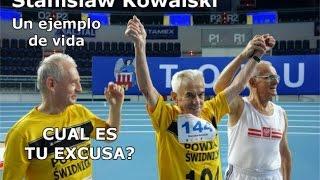 Anciano de 104 años establece un record mundial en 100 metros.