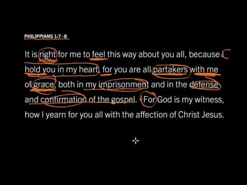 Philippians 1:7—8 // A Strange Evidence of Saving Faith