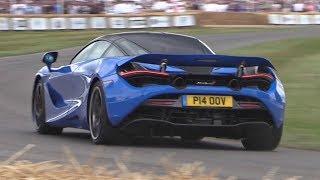 McLaren 720S Driven FLAT OUT  Loud SOUNDS! – Burnouts, Launches, Accelerations  More!