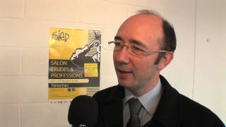 Interview du Ministre Rudy Demotte - Salon de Tournai - 2010