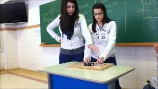 Experimento Corrente Elétrica - 3º EM CONSA 2012