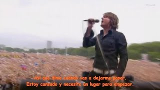 Keane - Somewhere only we know (subtitulado en español)