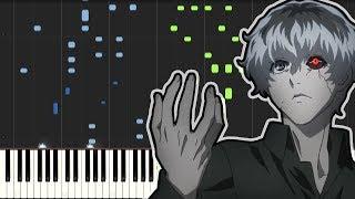 Tokyo Ghoul:re OP - Asphyxia (Piano Tutorial)