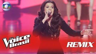Amanda Lince canta 'É Com Ela Que Eu Estou' no Remix – 'The Voice Brasil' | 5ª Temporada