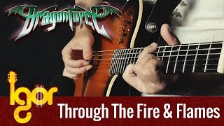 Through The Fire And Flames by Dragonforce meets fingerstyle guitar (preview)