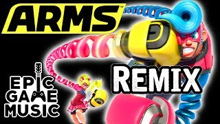 ARMS Main Theme Global Testpunch (Guitar Remix) || Epic Game Music