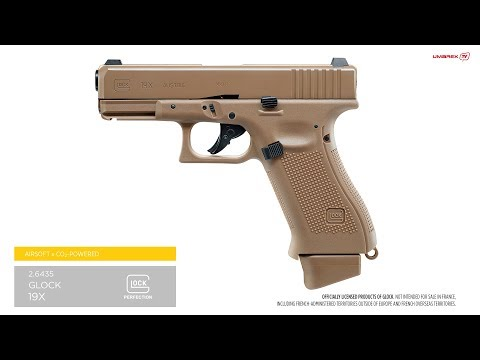 Airsoft CO2 Glock 19X Blowback