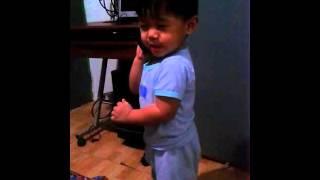 Hello!👣👄Uwe kana di na ako galit.