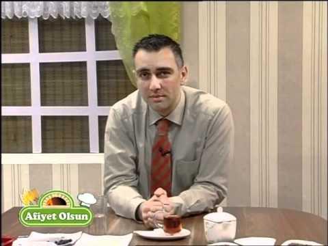 'Leyla Abla ile Afiyet Olsun' canlı yemek proğramında Alm. Huk. Avukat Cüneyt Gençer