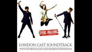 Spring Awakening London cast - All That's know
