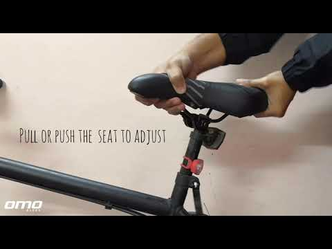 OMOBikes Quick release seat height adjustment tutorial