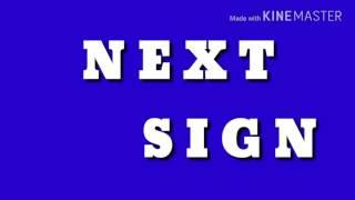 Next Sign Sound Effect  (davemadson)