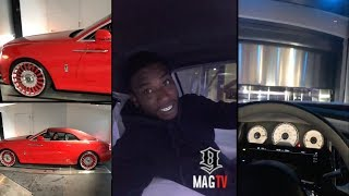 "Gucci Mane Has An ""Elevator"" For His Rolls Royce Wraith! 🚗🛩"