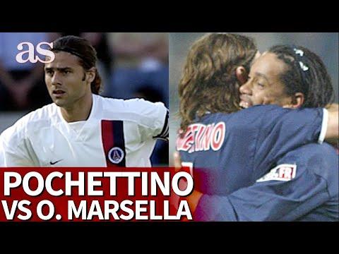 Los PSG vs. MARSELLA en los que Pochettino jugó como futbolista | Diario AS