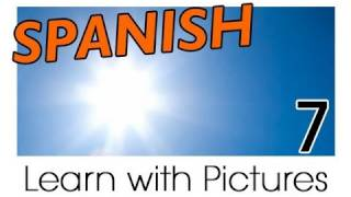 Learn Spanish - Spanish Weather Vocabulary