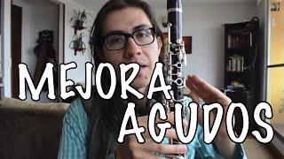 Mejora los agudos en el clarinete | Ejercicios faciles