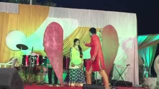 Dance performance on 'mein tenu samjhava ki' by Jignasha an