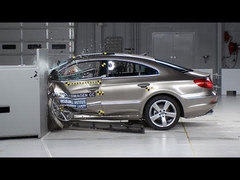 2012 Volkswagen CC small overlap test