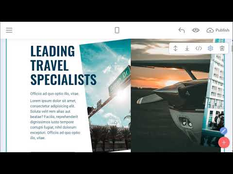 Traveling Site Template | VoyageM4
