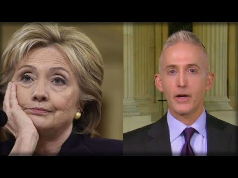 TREY GOWDY JUST BURIED CLINTON UP TO HER NECK AND BEAT HER LYING FACE WITH THE TRUTH ON LIVE TV!