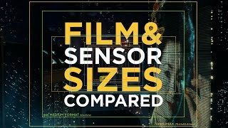 Camera sensor and film size explained – From 1/3 inch over super35 to IMAX