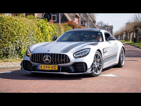 Mercedes AMG GT R Pro - Acceleration Sounds !