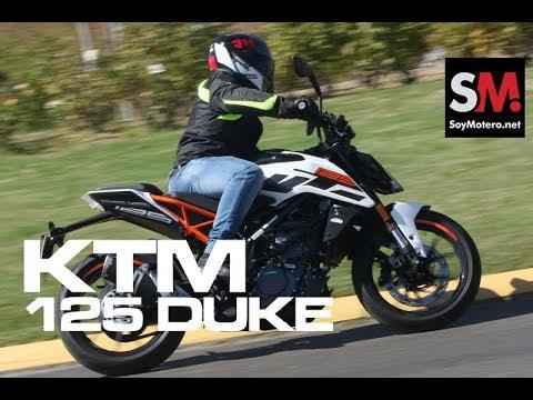 KTM DUKE 125 2017: Prueba Naked 125 [FULLHD]