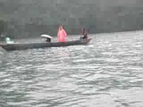 Boating at Fhewa lake