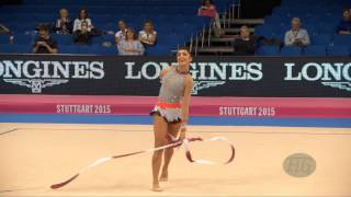Varvara FILIOU (GRE) 2015 Rhythmic Worlds Stuttgart - Qualifications Ribbon
