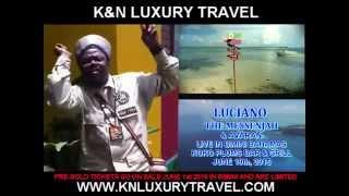 "Luciano ""The Messenjah"" & Avaran Live in Bimini Bahamas"